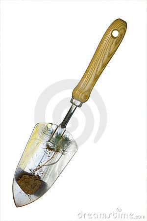 Hand Shovel with Sprout