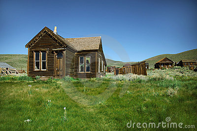 Vacant Town Home in Bodie California