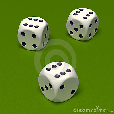 Dice triple six