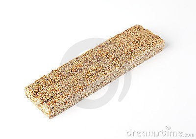 Sesame bar with honey