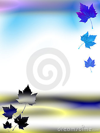 Psychedelic Autumn Template