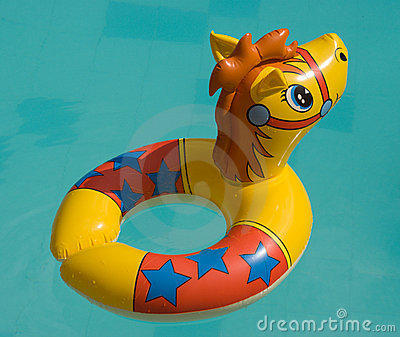 The toy for swimming