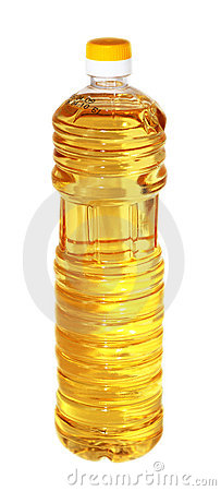 Bottle of oil