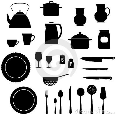 Kitchen Items – Vector illustration