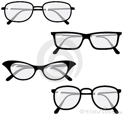 Eyeglasses – Vector illustrations