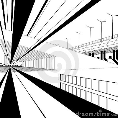 Architectural design vector