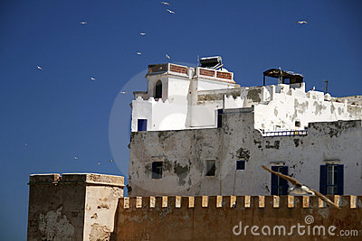 View on the city of Essaouira, Morocco