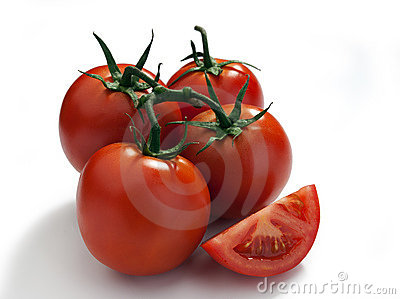 Tomatos on a vine