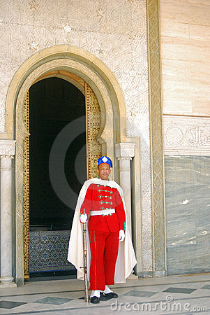 Royal guard, Rabat, Morocco