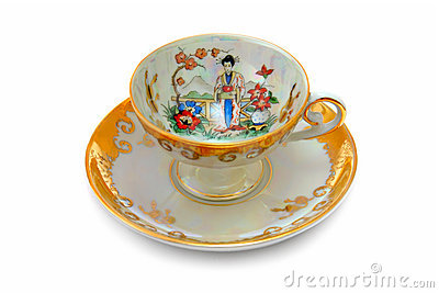 Ancient China Cup for Hot Tea or Coffee