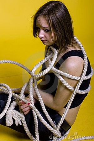 Girl with rope