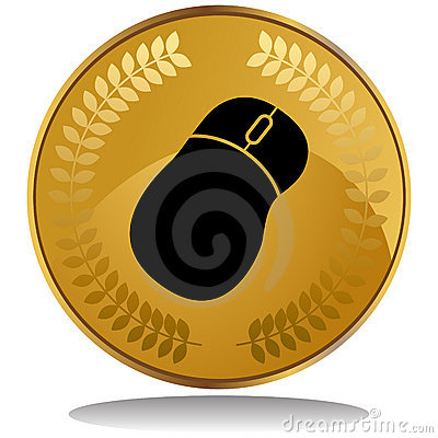 Gold Coin - Mouse