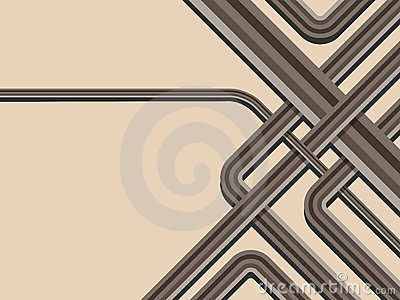 Abstract trendy striped background