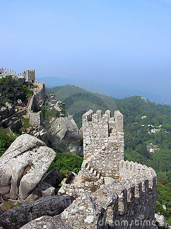 Sintra Portugal Ruins