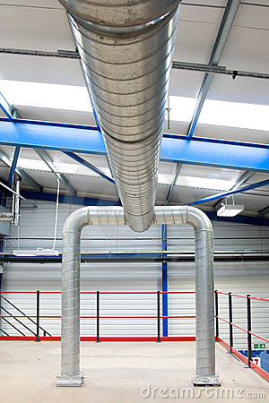 Industrial air-conditioner pipes
