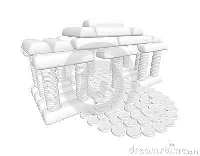 House of coins and ingots