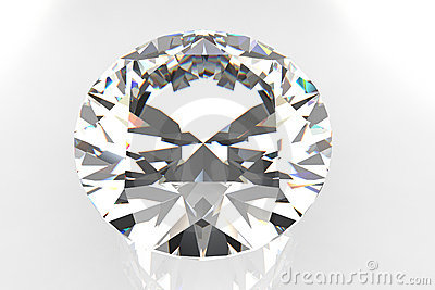 European Cut Diamond Gemstone
