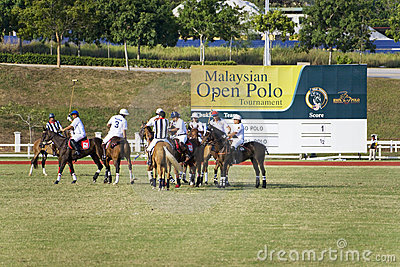 Malaysian Open Polo Action