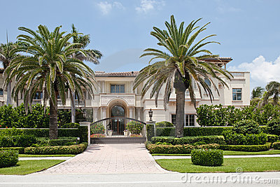 Luxurious Florida mansion