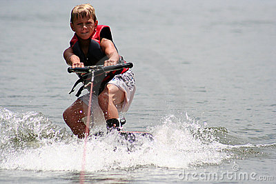 Wakeboarding Boy