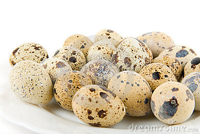 Delicatessen quail eggs