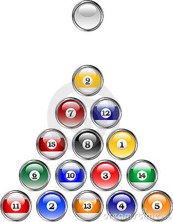 Pool Ball Buttons