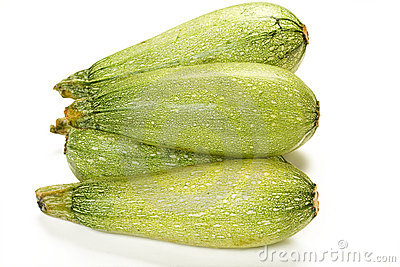 Isolated Summer Squash