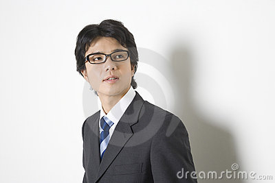 Japanese office worker