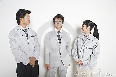 Japanese workers