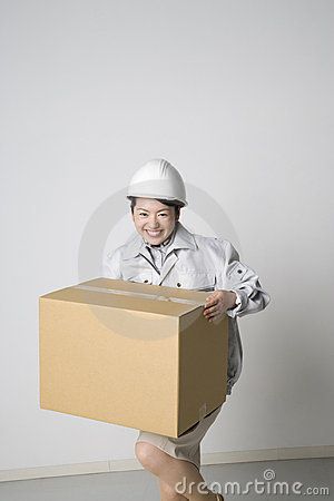 Japanese worker