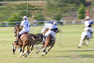 Malaysian Open Polo Action (Blurred)