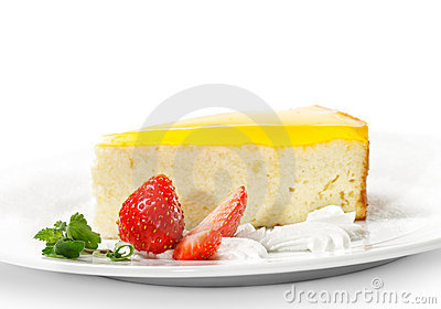 Dessert - Orange Cheesecake
