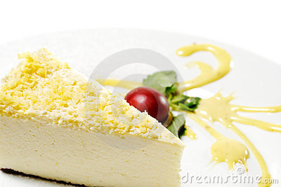 Dessert - Lemon Cheesecake