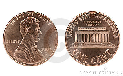Abraham Lincoln cent coin