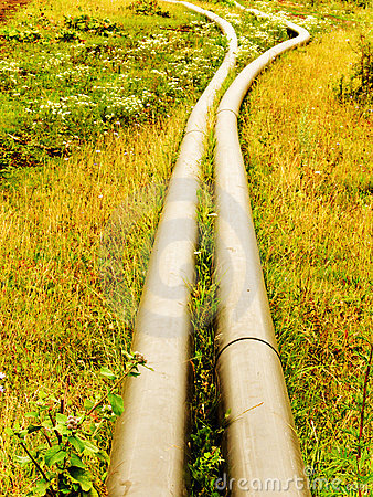 The pipeline for water
