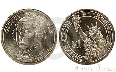 Washington Presidential dollar coin