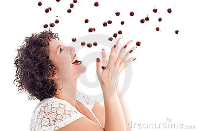 Catching the cherries