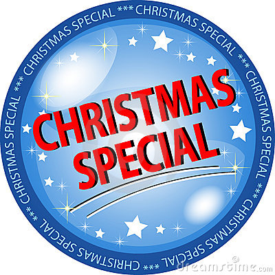 Christmas special button