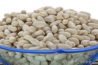Small bush bean in a bowl