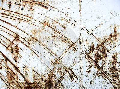 Scratched industrial surface metal