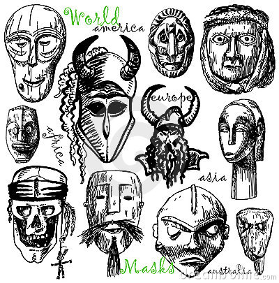 World masks