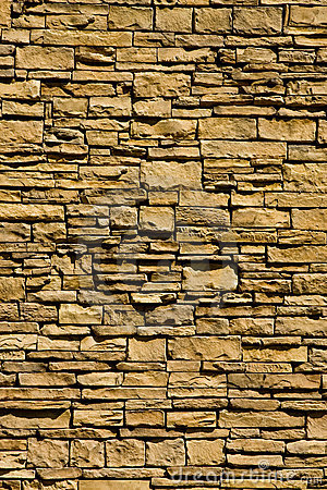 Vertical Stacked Rock Wall