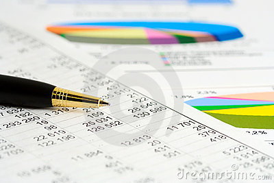 Financial graphs analysis and accounting