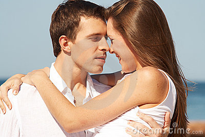 Romatic young couple