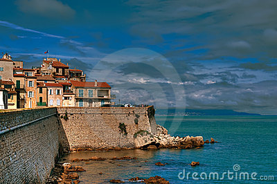 Antibes in Summer
