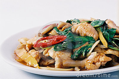 Thai stir fried Basil