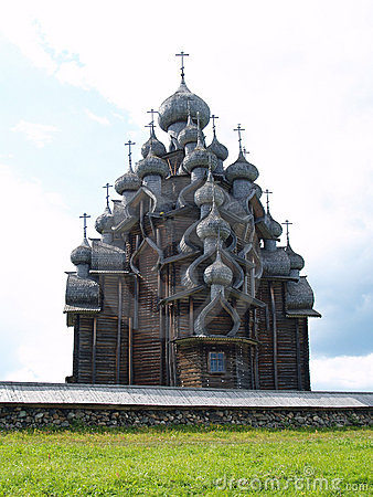 Wooden church in Kizhi