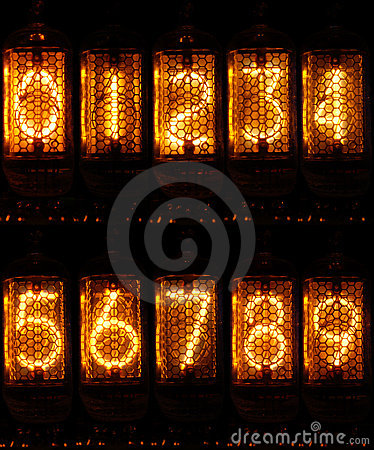 Nixie Numbers