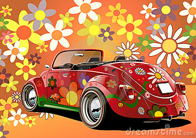 Flower power convertible