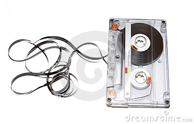 Old audio tape